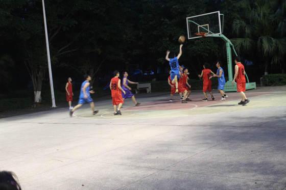 公司员工篮球赛